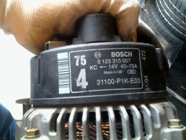 ATR07 - HONDA ALTERNATORE - BOSCH - foto 2